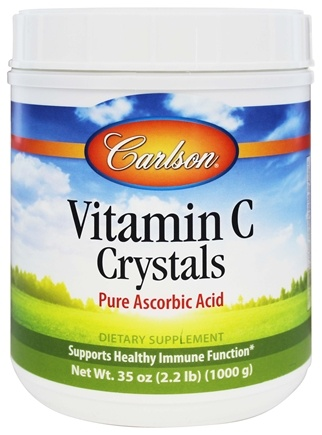 DROPPED: Carlson Labs - Vitamin C Crystals 2000 mg. - 35 oz.