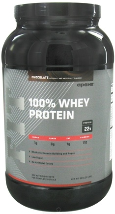 DROPPED: Apex Fitness - Fit 100% Whey Protein Chocolate - 2 lbs. CLEARANCE PRICED