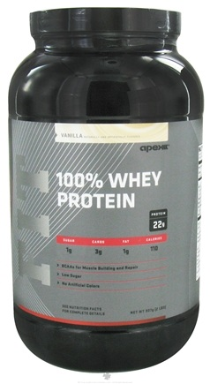DROPPED: Apex Fitness - Fit 100% Whey Protein Vanilla - 2 lbs. CLEARANCE PRICED