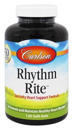 Carlson Labs - Rhythm Rite - 120 Softgels