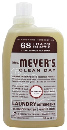 DROPPED: Mrs. Meyer's - Clean Day Laundry Detergent Lavender - 34 oz.