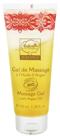 DROPPED: Naturelle d'Orient - Massage Gel With Argan Oil - 3.38 oz. CLEARANCE PRICED