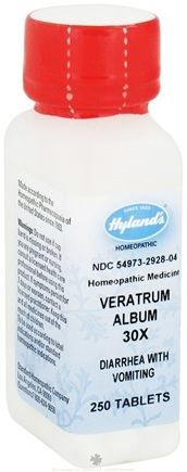 DROPPED: Hylands - Veratrum Album 30 X - 250 Tablets