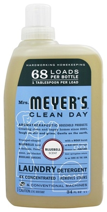 DROPPED: Mrs. Meyer's - Clean Day Laundry Detergent Bluebell - 34 oz.
