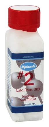 Hylands - Cell Salts #2 Calcarea Phosphorica 30 X - 500 Tablets