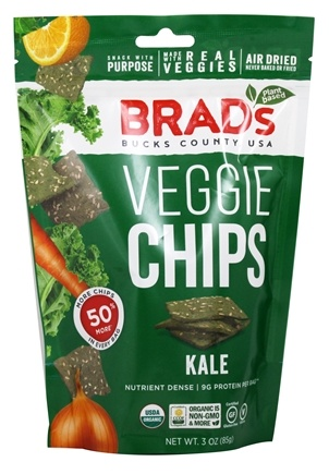 Brad's Raw Foods - Vegan Chips Kale - 3 oz.