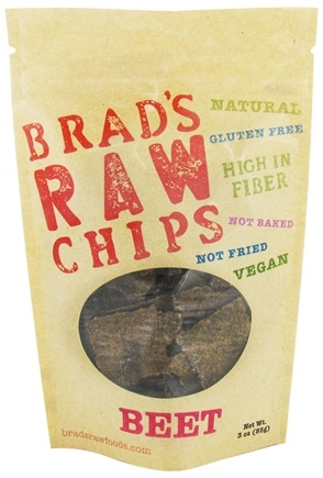 DROPPED: Brad's Raw Foods - Vegan Chips Beet - 3 oz.