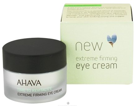 DROPPED: AHAVA - Time To Revitalize Extreme Firming Eye Cream - 0.51 oz. CLEARANCE PRICED