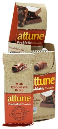 DROPPED: Attune - All Natural Probiotic Bars Milk Chocolate Crisp - 7 Bars