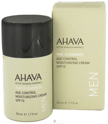 DROPPED: AHAVA - Men's Age Control Moisturizing Cream SPF 15 - 1.7 oz. CLEARANCE PRICED