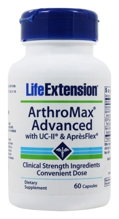 Life Extension - Arthromax Advanced with UC-II & ApresFlex - 60 Capsules