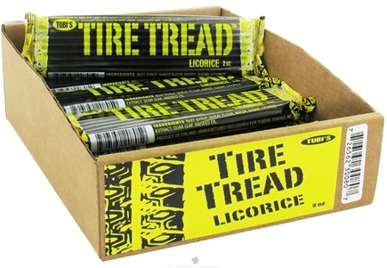 DROPPED: Tubi's - Tire Tread Licorice - 2 oz.