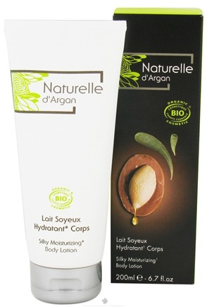 DROPPED: Naturelle d'Argan - Silky Moisturizing Body Lotion - 6.7 oz.