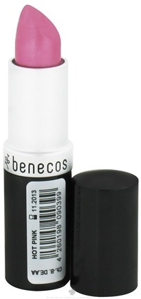DROPPED: Benecos - Natural Lipstick Hot Pink - 4.5 Grams
