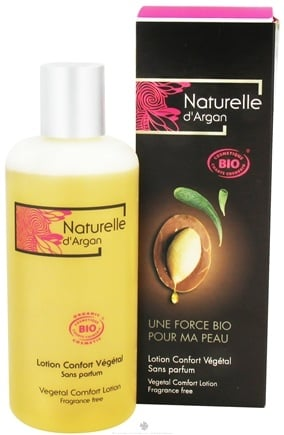 DROPPED: Naturelle d'Argan - Vegetal Comfort Lotion Fragrance Free - 8.4 oz.