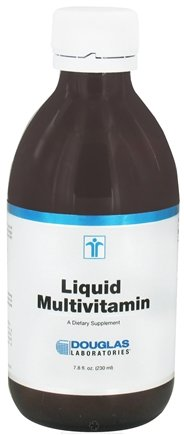 DROPPED: Douglas Laboratories - Liquid Multivitamin - 7.8 oz. CLEARANCE PRICED