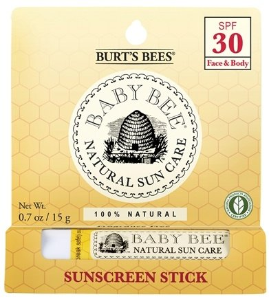 DROPPED: Burt's Bees - Baby Bee Sunscreen Stick 30 SPF - 0.7 oz.
