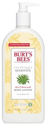 DROPPED: Burt's Bees - Body Lotion Aloe & Buttermilk - 12 oz.