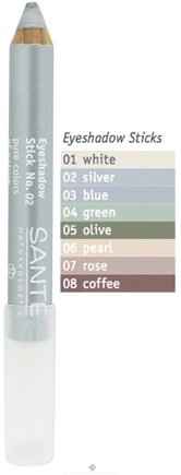 DROPPED: Sante - Eyeshadow Stick 02 Silver - 3.2 Grams CLEARANCE PRICED