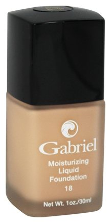 Gabriel Cosmetics Inc. - Moisturizing Liquid Foundation Rose Beige 18 SPF - 1 oz.