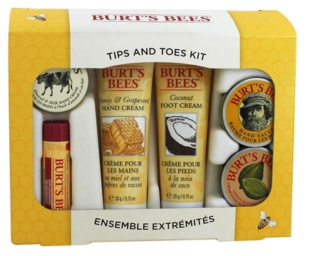 DROPPED: Burt's Bees - Tips And Toes Kit