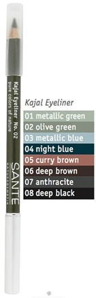 DROPPED: Sante - Kajal Eyeliner Pencil 02 Olive Green - 1.3 Grams CLEARANCE PRICED