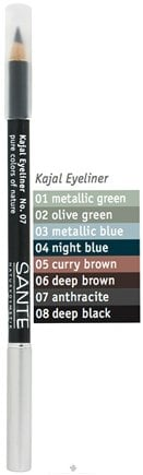 DROPPED: Sante - Kajal Eyeliner Pencil 07 Anthracite - 1.3 Grams CLEARANCE PRICED