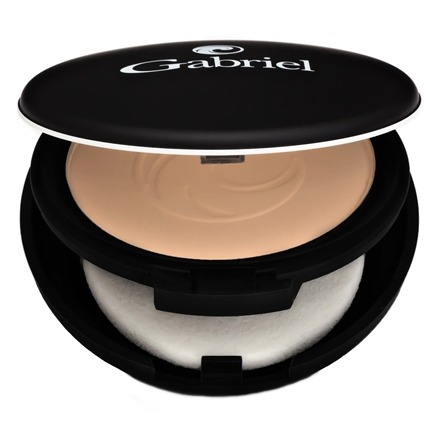 Gabriel Cosmetics Inc. - Dual Powder Foundation Medium Beige - 0.32 oz.