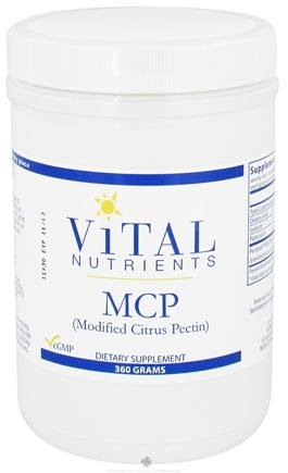 DROPPED: Vital Nutrients - MCP Modified Citrus Pectin - 360 Grams CLEARANCE PRICED