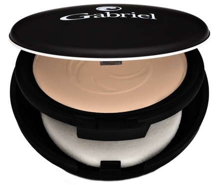 Gabriel Cosmetics Inc. - Dual Powder Foundation Light Beige - 0.32 oz.