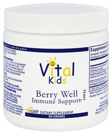 DROPPED: Vital Nutrients - Berry Well Immune Support - 90 Grams