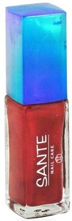 DROPPED: Sante - Nail Polish 18 Magnolia Red - 7 ml. CLEARANCE PRICED