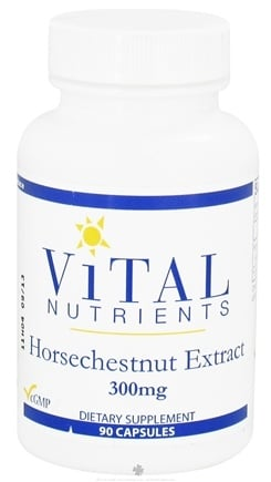 Vital Nutrients - Horsechestnut Extract 300 mg. - 90 Capsules