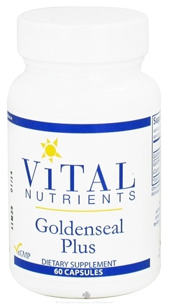 DROPPED: Vital Nutrients - Goldenseal Plus - 60 Capsules CLEARANCE PRICED