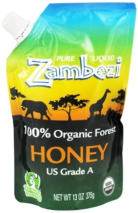 DROPPED: Honey Bunny - 100% Organic Forest Honey Pure Liquid Zambezi - 13 oz.