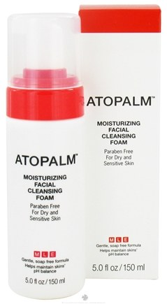 DROPPED: Atopalm - Moisturizing Facial Cleansing Foam - 5 oz. CLEARANCE PRICED