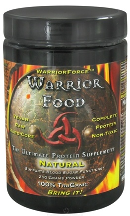 DROPPED: WarriorForce - Warrior Food Extreme Protein Supplement V 2.0 Natural - 250 Grams