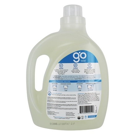 Organic Laundry Detergent Free & Clear - 100 fl  oz  by GO by greenshield  organic
