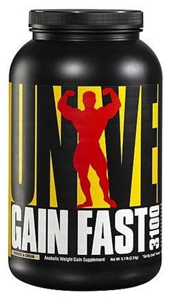 Zoom View - Gain Fast 3100 Anabolic Weight Gain Supplement