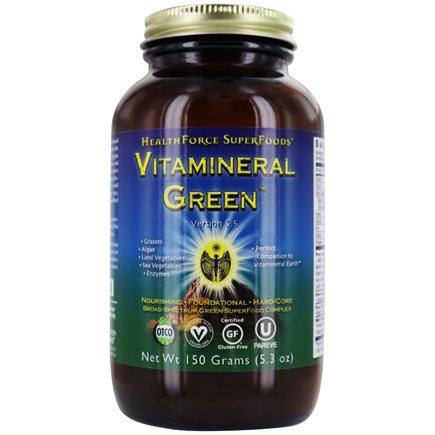 HealthForce Nutritionals - Vitamineral Green Powder Version 5.2 - 150 Grams