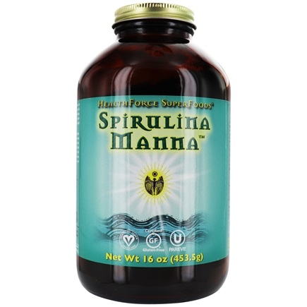 HealthForce Nutritionals - Spirulina Manna Powder - 16 oz.