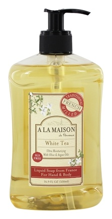 A La Maison - Traditional French Milled Liquid Soap White Tea - 16.9 oz.