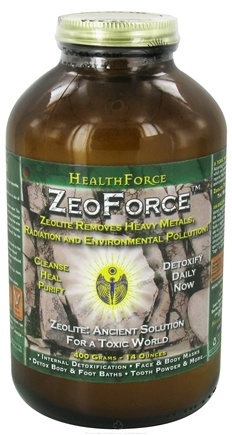 DROPPED: HealthForce Nutritionals - ZeoForce ZeoLite Detoxify Daily Powder - 400 Grams
