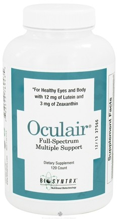 DROPPED: BioSyntrx - Oculair - 120 Capsules CLEARANCE PRICED