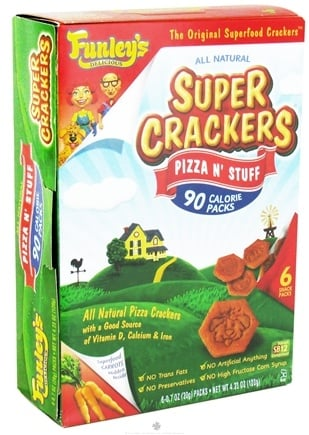 Zoom View - All Natural Super Crackers 100 Calorie Snack Packs