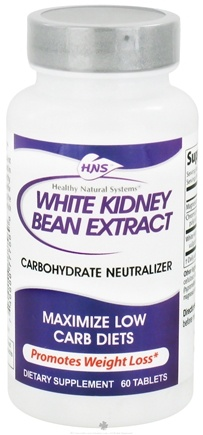 DROPPED: Healthy Natural Systems - White Kidney Bean Extract - 60 Tablets CLEARANCE PRICED