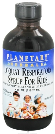 Zoom View - Loquat Respiratory Syrup For Kids
