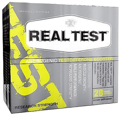 DROPPED: EXT Sports - Real Test Androgenic Testosterone Booster - 28 Capsules CLEARANCE PRICED
