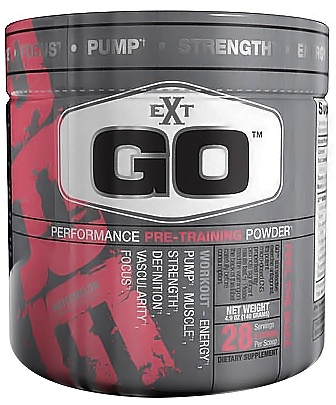 DROPPED: EXT Sports - Go Performance Pre-Training Powder Watermelon - 4.9 oz. CLEARANCE PRICED