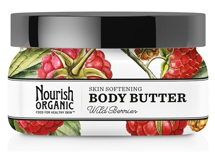 DROPPED: Nourish - Organic Body Butter Wild Berries - 3.6 oz.